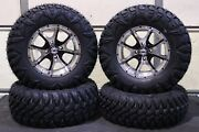 Kodiak 450 Irs 27 Street Legal Radial Atv Tire 14 Cobra M/b Wheel Kit Irs1ca
