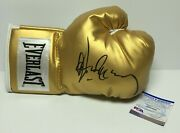 Gerry Cooney Signed Gold Everlast Boxing Glove Psa Ah58800