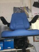 Universal Heavy Duty Tractor Seat And Armrest Available In Blue ,black And Yellow