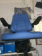 Universal Heavy Duty Tractor Seat And Armrest Available In Blue Black And Yellow