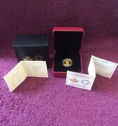 Pure 99 Gold Proof Coin Canadian 10 Queen Elizabeth 65th Coronation 2018