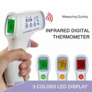 Infrared Thermometer Lcd Non-contact Digital Ir Temp Meter With Fever Alarm