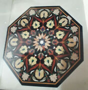 30 Marble Dining Coffee Center Table Top Mosaic Inlay Malachite Fh28