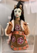 Antique Chinese Asian Opera Doll Hand Puppet Nice Condition