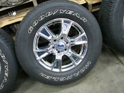 2015-2017 Ford F150 4x4 Goodyear Wrangler Tires And Wheels 275/65r/18