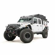Fab Fours Jtor-02-1 Overland Rack Extension Accessory Matte Black For Jeep New
