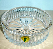 Waterford Heritage Crystal Wine Bottle Coaster 159842 New In Box
