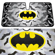 Carxs 1 Pc Warner Bros. Batman Sun Shade Windshield Block Cover Auto Shade Visor