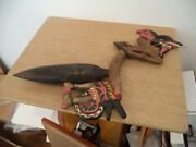 Antique Javanese Puppet Hand Carved/painted