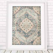 Lotus Trader - Persian Elegance Pattern Poster Picture Print - Sizes A5 To A0