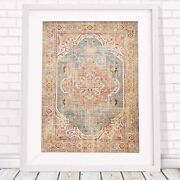 Lotus Trader - Botanical Charm Pattern Poster Picture Print - Sizes A5 To A0