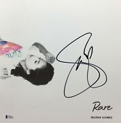 Selena Gomez Signed 'rare' 12x12 Album Cover Photo Look At Her Now Bas T64346