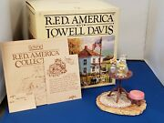 Rare New Lowell Davis Open The Lid Kitty Cat And Gold Fish Schmid Rfd