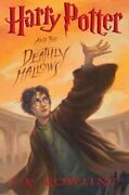 Harry Potter And The Deathly Hallows By J. K. Rowling First Edition July 2007