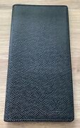 Louis Vuitton Checkbook Cover Credit Card Holder/wallet 6 Card Holder