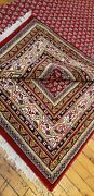 Stunning Decorative Cr1930-1950and039s Natural Dye Wool Pile Armenian Rug 6and0395andtimes8and0391