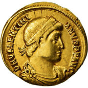 [489004] Coin Valentinian I Solidus Nicomedia Ef Gold Ric2a