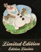 Disney Pin Frozen Olaf Summer Time Disney Store Uk Limited Edition Le Pin