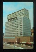 1968 Midtown Plaza Americas Largest Downtown Shopping Trailways Bus Rochester Ny