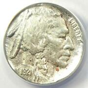 1921-s Buffalo Nickel 5c Coin - Anacs Xf40 Details Ef40 - Rare Date In Ef