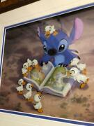 Disney Lilo And Stitch Cel Picture From Japan Free Shipping