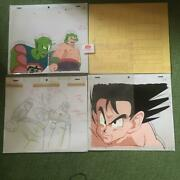 Dragon Ball Set Of Cel Pictures Rare From Japan Free Shipping