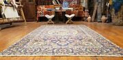 Exquisite Antique 1930-1940and039s Wool Pile Natural Dye Hereke Area Rug 4and0394andtimes7and039