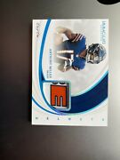 2019 Immaculate Anthony Miller Helmets Bears Nfl True 1/1 Panini