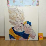 Dragon Ball Z Super Heroes Novelty One Of Kind Event Panel From Japan F/s