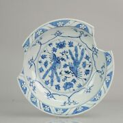 16c Ming Period Chinese Porcelain Dish Charger Phoenix Flowers Antique ...