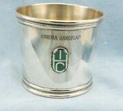 And Co.-1979 Cinema Handicap Grade Ii Stakes Sterling Silver Julep Cup
