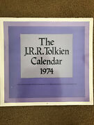 Vintage Jrr Tolkien Lord Of The Rings Lotr The Hobbit Calendar Lot Of 4