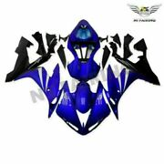 Nt Blue Black Injection Plastic Set Fairing Fit For Yamaha Yzf R1 2004-2006 R0lh