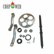 36t Wide Crank Assembly-3pcs,for 2-stroke And 4-stroke Motor-motorized Bicycle