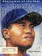 Tiger Woods Authentic Signed 1996 Sports Illustrated Magazine Cover Jsa B91399