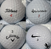 Aaa - Aaaaa Mint Condition Used Golf Balls Assorted Brands And Quantity