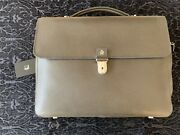 Authentic New Dunhill Bourdon Briefcase Saffiano Leather Msrp 1595