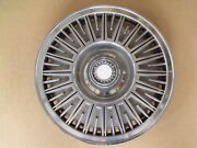 Single 1 Oem Hub Cap 14 Wheel Cover 1981 81 Dodge Aries And Plymouth Reliant