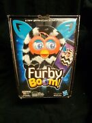 Hasbro Furby Boom Black And White Stripes, Used, Good Working Condition With Box