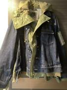 Sacai Andtimes A.p.c. Limited 50 Size 4 Denim G Jacket From Japan F/s