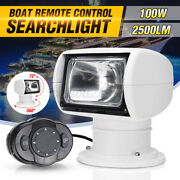 Boat Truck Car Remote Control Spotlight Marine Remote Searchlight 12v 100w