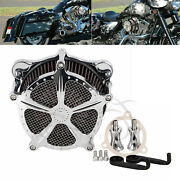 Motocycle Aluminum Air Cleaner Intake Filter System For Harley Davidson Touring