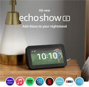 Echo Show 5 Smart Display With Alexa Andndash 2nd Generation 2021 Newest Model