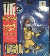 Shaq Attaq Jamminand039 Giant Action Figure Lsu 1993 Shaquille Oand039neil 7683-1 New E2