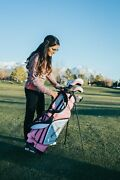 Precise M5 Ladies Complete Golf Clubs Set - Right And Left Hand - 3 Size Options