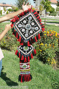 Antique Camel Or Tent Decoration With Blue Eyes Textile From Se Of Turkeu