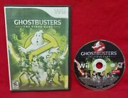 Ghostbusters The Video Game - Nintendo Wii / Wii U Game Tested + Working - Rare