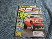 Hot Rod Magazine August 1987 Street Power Combos Camaro 350 454 Chevy302 W Ford
