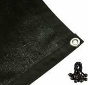 Cerbior 90 Sun Shade Cloth Outdoor Patio Plant Cover With Grommets Various Size