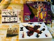 Takara Transformers Collectorand039s Edition D-57 Thrust Action Figure Doll Used